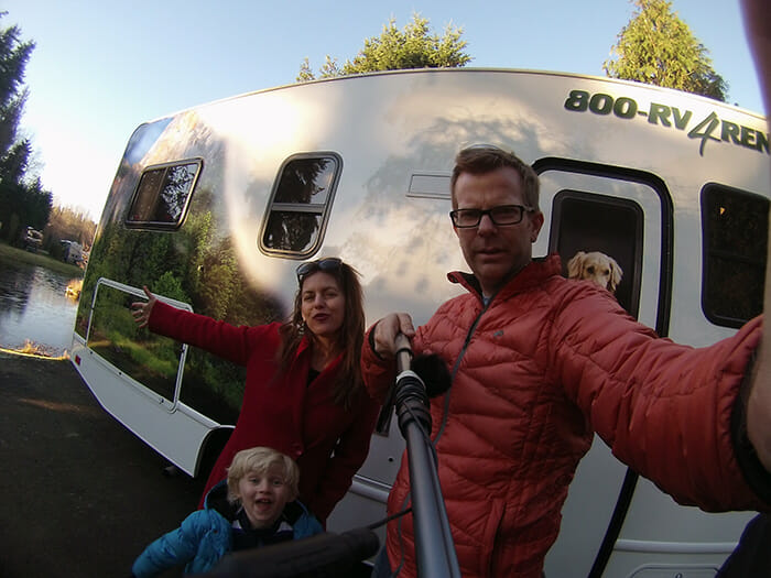 Family RV pic software for product launch