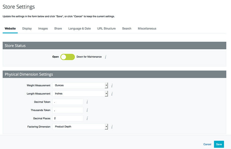 Big Commerce-Review-Store-Settings