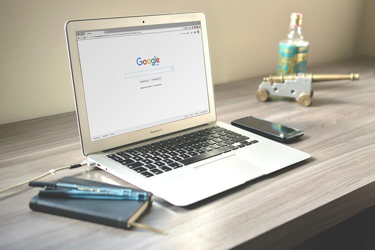 Big Commerce review google screen
